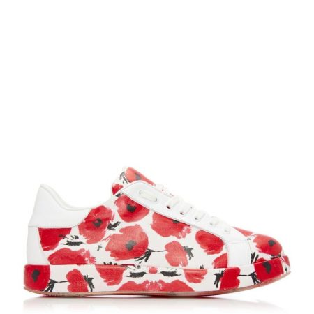 Casual Shoes And Trainers | Moda in Pelle Womens Boppy White Leather White