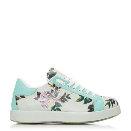Casual Shoes And Trainers | Moda in Pelle Womens Botanical Mint Leather Mint