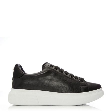 Casual Shoes And Trainers | Moda in Pelle Womens Bridgette Black Leather Black