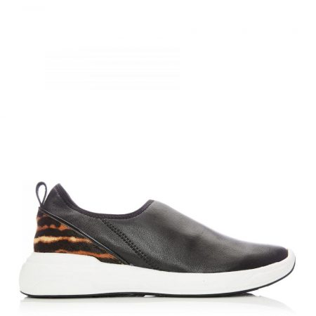 Casual Shoes And Trainers | Moda in Pelle Womens Brionna Black Nappa Black