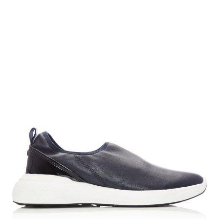 Casual Shoes And Trainers | Moda in Pelle Womens Brionna Navy Nappa Navy