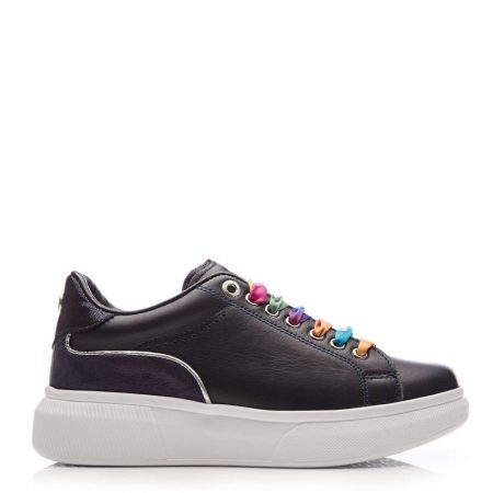 Casual Shoes And Trainers | Moda in Pelle Womens Britia Navy Leather Navy