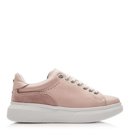 Casual Shoes And Trainers | Moda in Pelle Womens Britia Nude Leather Nude