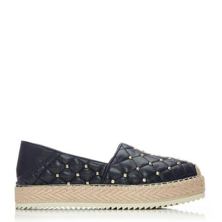 Casual Shoes And Trainers | Moda in Pelle Womens Ditsie Navy Leather Navy