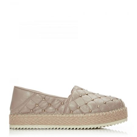 Casual Shoes And Trainers   Moda in Pelle Womens Ditsie Nude Metallic Leather Nude