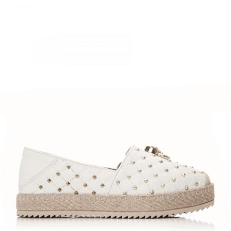 Casual Shoes And Trainers | Moda in Pelle Womens Ereelia Off White Leather Off