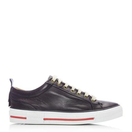 Casual Shoes And Trainers | Moda in Pelle Womens Feratsia Navy Leather Navy