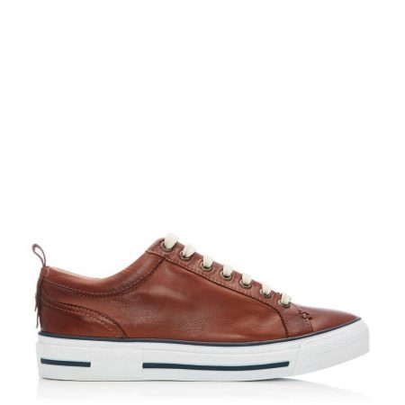 Casual Shoes And Trainers | Moda in Pelle Womens Feratsia Tan Leather Tan