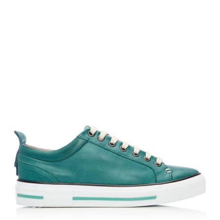 Casual Shoes And Trainers | Moda in Pelle Womens Feratsia Teal Leather Teal