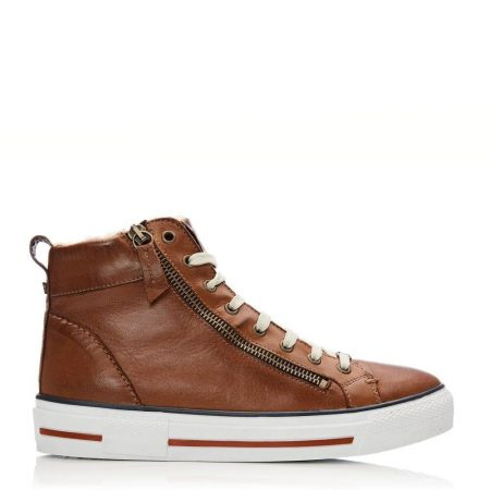 Casual Shoes And Trainers | Moda in Pelle Womens Ferenzi Tan Leather Tan