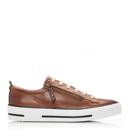 Casual Shoes And Trainers | Moda in Pelle Womens Filicia Tan Leather Tan