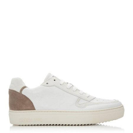 Casual Shoes And Trainers | Moda in Pelle Womens Ohio Cream Leather Cream