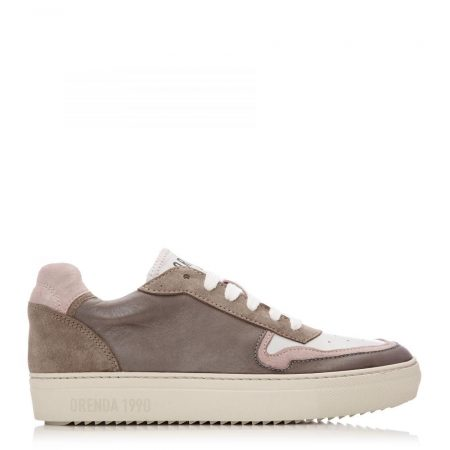 Casual Shoes And Trainers | Moda in Pelle Womens Ohio Dark Grey Leather Dark