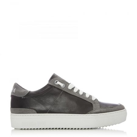 Casual Shoes And Trainers | Moda in Pelle Womens San Diego Light Grey Leather Diego