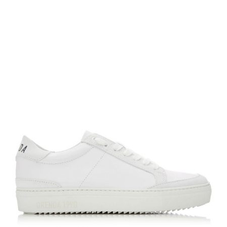 Casual Shoes And Trainers | Moda in Pelle Womens San Diego White Leather Diego
