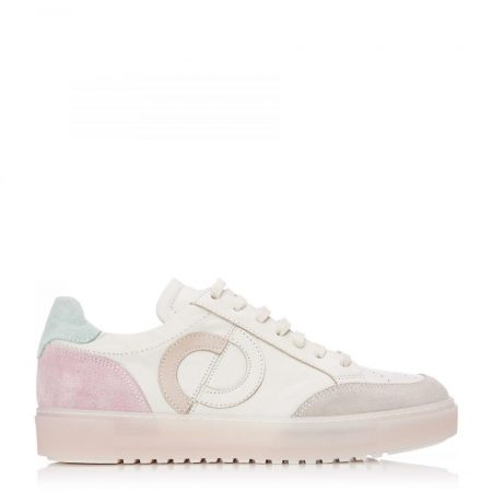 Casual Shoes And Trainers   Moda in Pelle Womens Seville Cream Leather Cream
