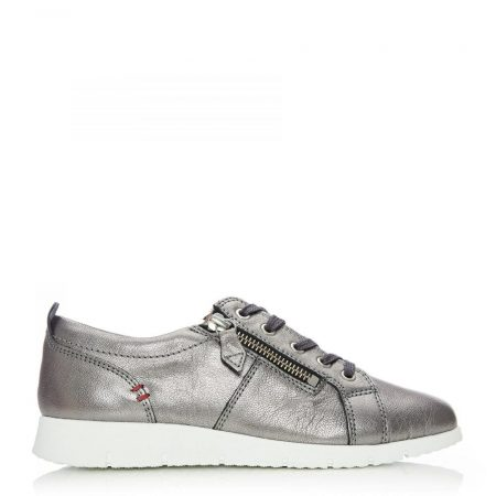 Casual Shoes And Trainers | Moda in Pelle Womens Sh Alexandra Pewter Leather Alexandra