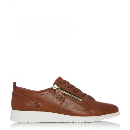 Casual Shoes And Trainers | Moda in Pelle Womens Sh Alexandra Tan Leather Alexandra