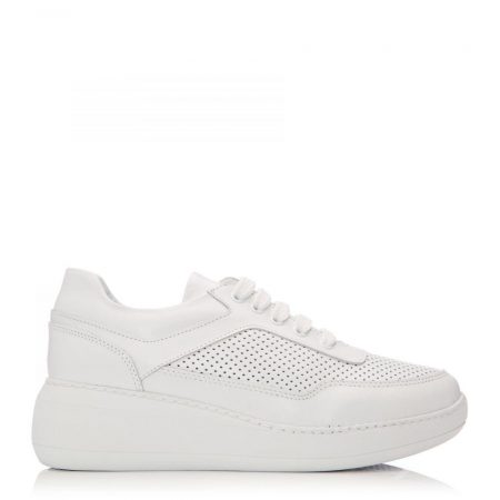 Casual Shoes And Trainers | Moda in Pelle Womens Sh Spring White Leather Spring