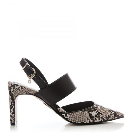 Court Shoes | Moda in Pelle Womens Chorale Natural Snake Print Natural