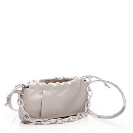 Evening And Clutch Bags | Moda in Pelle Womens Lilibag Light Grey Porvair Light