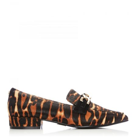 Flat And Ballerina Shoes | Moda in Pelle Womens Fliss Tiger Textured Animal Print Tiger