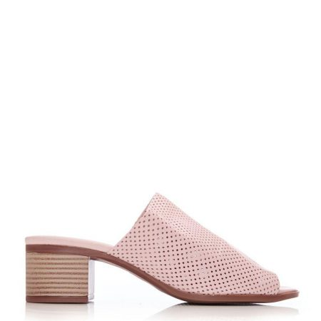 Heeled Sandals | Moda in Pelle Womens Morella Nude Leather Nude