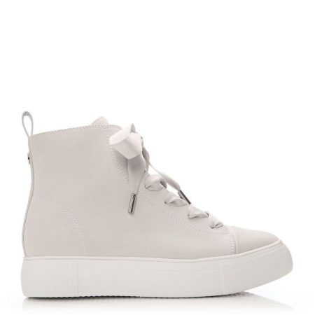 New Trainers | Moda in Pelle Womens Aleah Off White Porvair Off