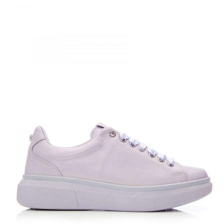 New Trainers | Moda in Pelle Womens Aritt Lilac Leather Lilac