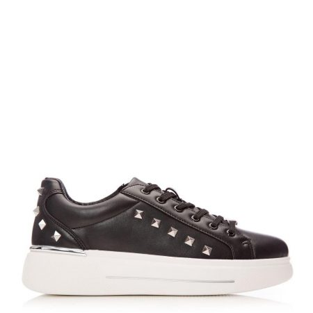 New Trainers | Moda in Pelle Womens Arixy Black Porvair Black