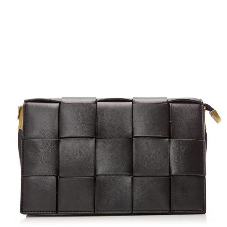 Tote Bags | Moda in Pelle Womens Colinabag Black Porvair Black