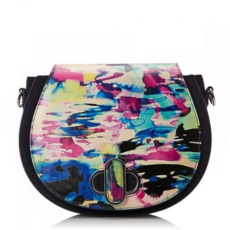 Tote Bags | Moda in Pelle Womens Loribag Water Colour Leather Water