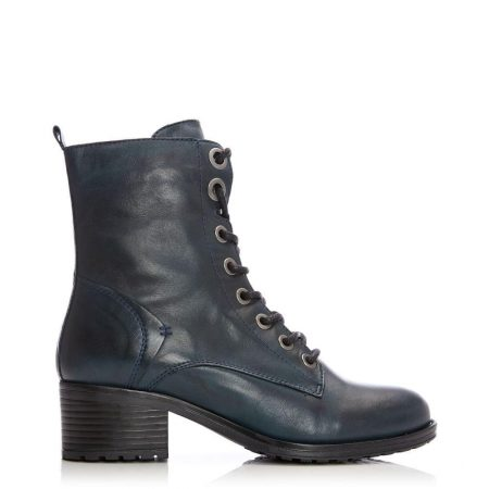 Ankle Boots | Moda in Pelle Womens Bezzie Teal Leather Teal