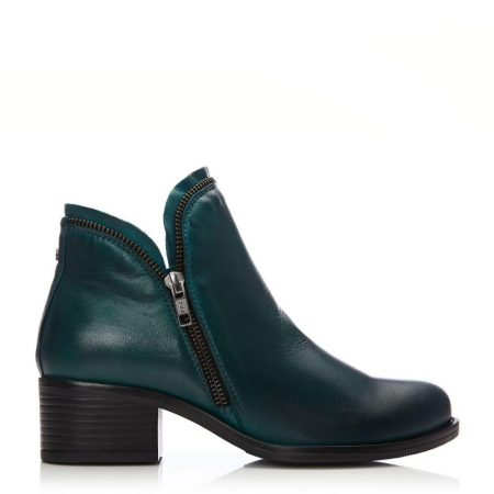 Ankle Boots | Moda in Pelle Womens Prue Teal Leather Teal