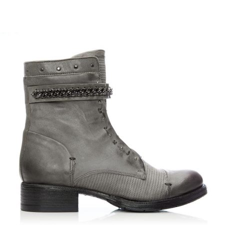 Ankle Boots | Moda in Pelle Womens Bliss Grey Leather Grey