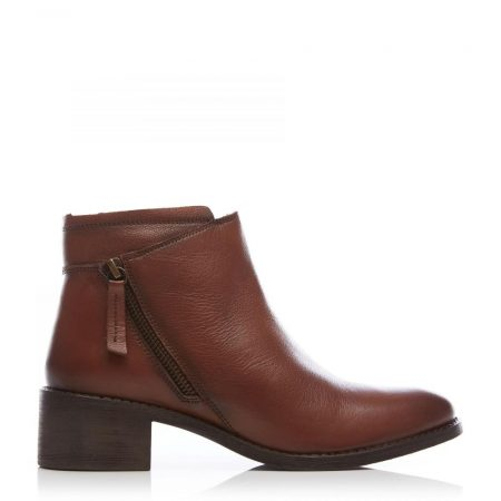 Ankle Boots | Moda in Pelle Womens Ceceria Tan Leather Tan